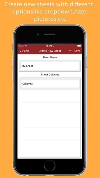 Barcode to Sheet screenshot-4
