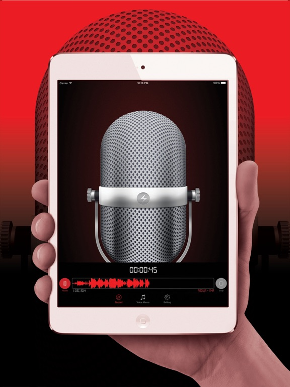 Voice Recorder HD Pro Screenshots