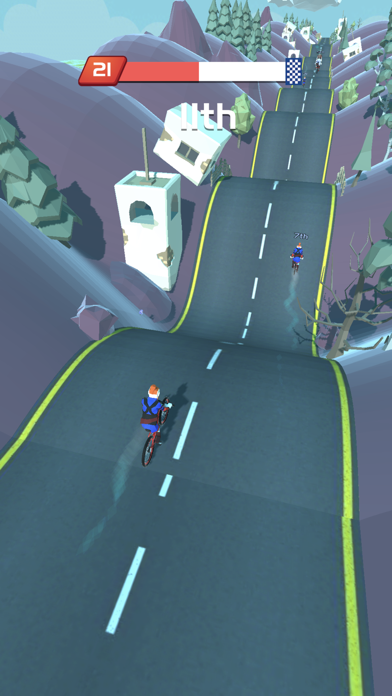 Screenshot of Bikes Hill App