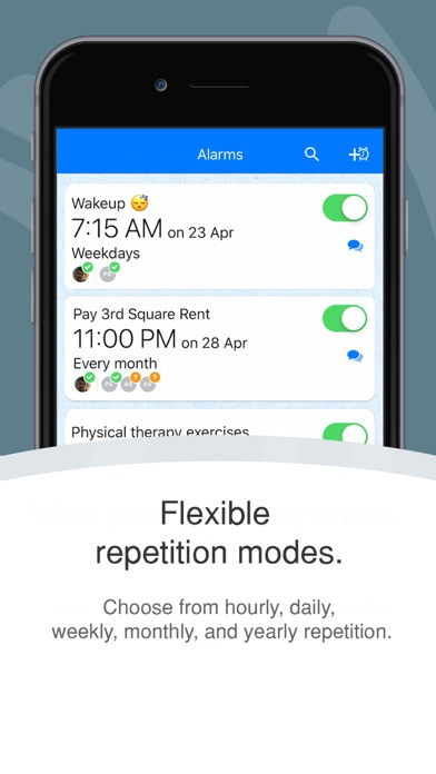 Galarm - Alarms and Reminders screenshot three