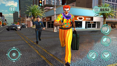 Scream Clown Halloween : Scary screenshot 3