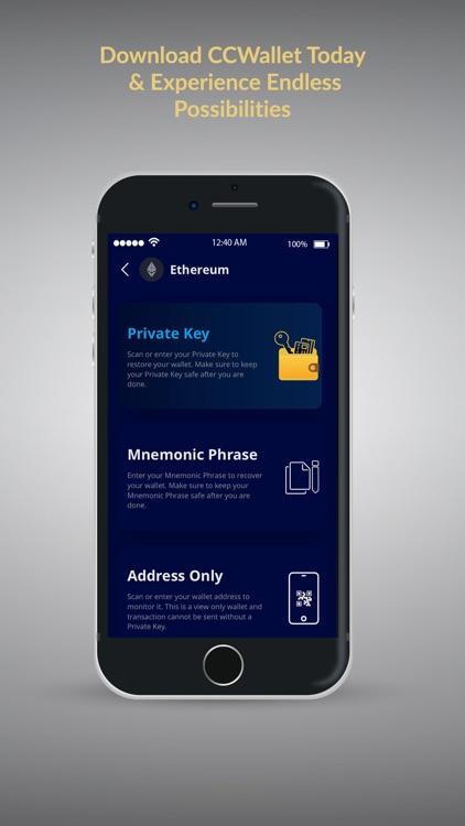 CCWallet: Your Bitcoin Wallet screenshot-3