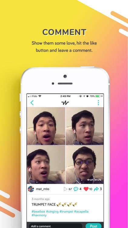 WunTwun - Acapella Maker screenshot-3