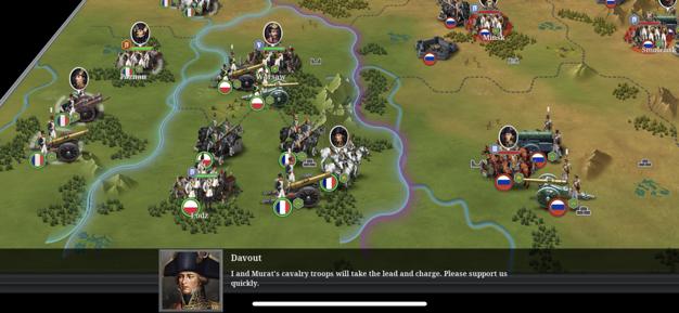 Turn-based war strategy game