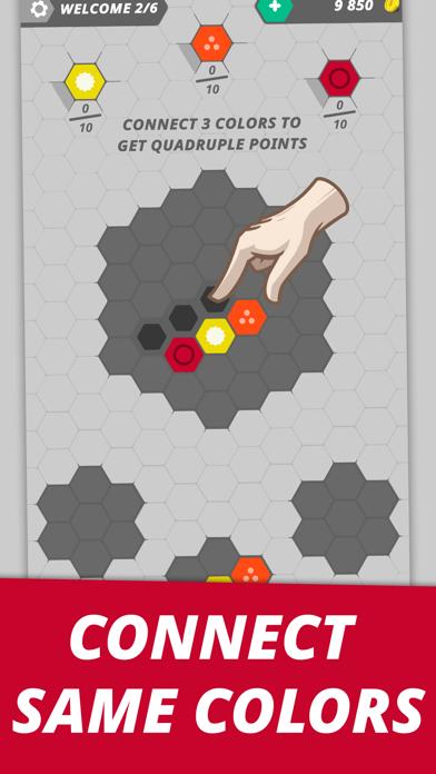 Hexme - IQ & Puzzle game screenshot #1