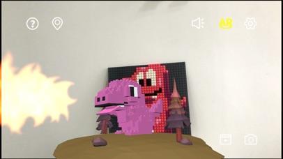像素恐龙AR screenshot 1