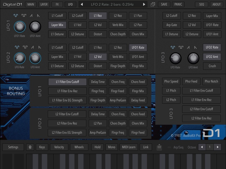 AudioKit Digital D1 Synth screenshot-6