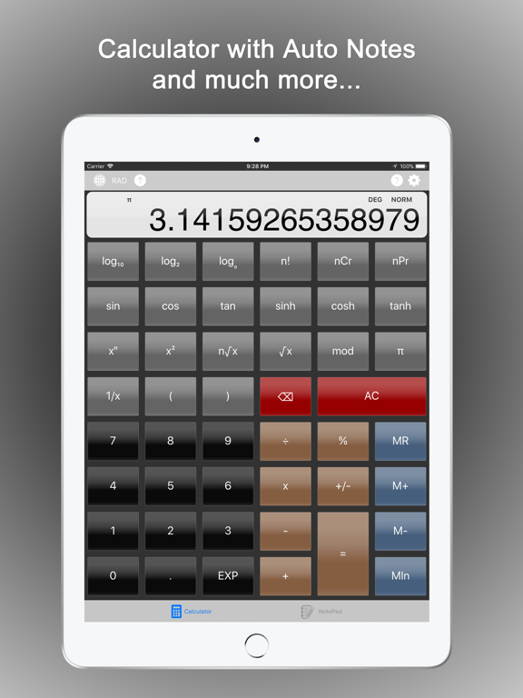 CalcMadeEasy Free : Calculator + Auto Notes screenshot