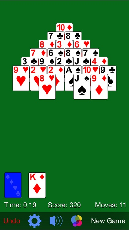 Pyramid Solitaire· screenshot-2