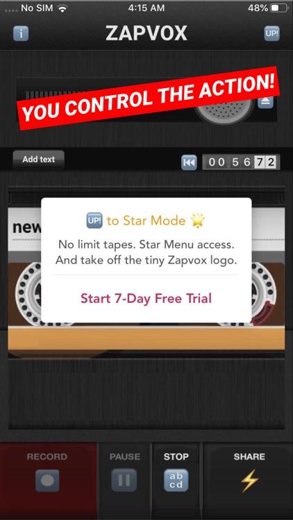 Zapvox Recorder + Slideshows screenshot-8