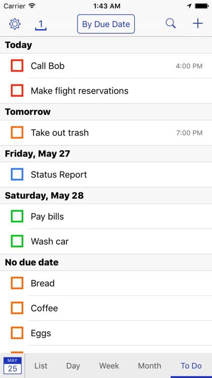 BusyCal: Calendar & Todos screenshot-3
