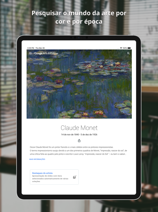 ‎Google Arts & Culture Screenshot