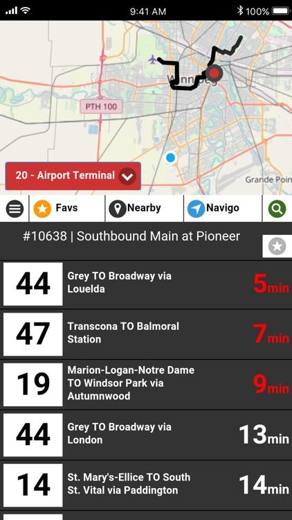 Winnipeg Transit RT - Bus Live screenshot-6