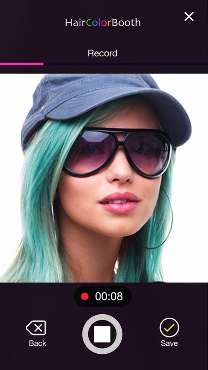 Hair Color Booth™ screenshot-3