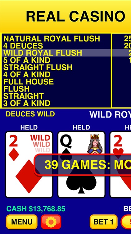 Video Poker Classic - 39 Games screenshot-0