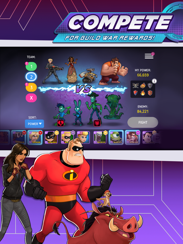 ‎Disney Heroes: Battle Mode Screenshot