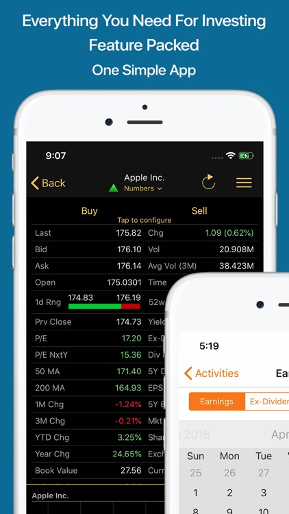 Stocks Live+ Best Stock Market screenshot-4