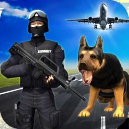 Airport Police Dog Drugs Sim