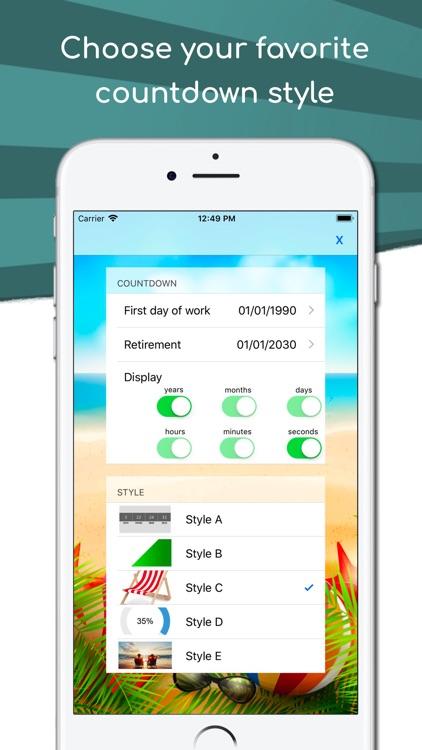 Retirement Countdown App screenshot-4