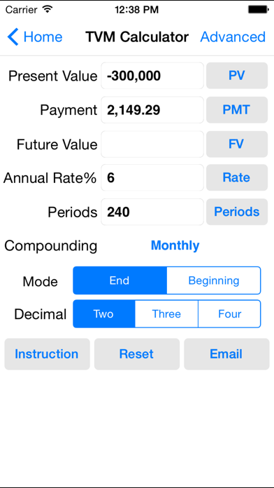 messages.download EZ Financial Calculators software