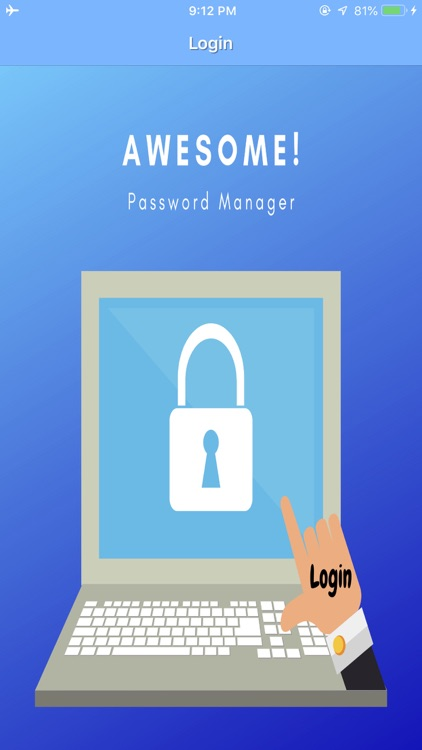 Awesome! Password Manager