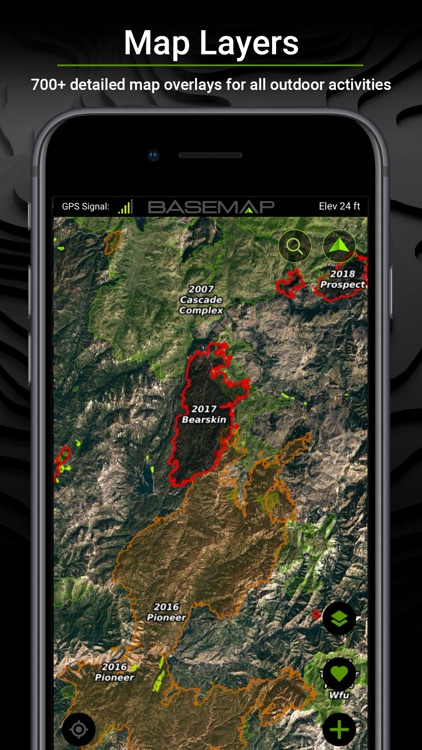 BaseMap: 3D Hunting GPS Maps screenshot-6