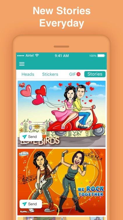Bobble GIF Stickers Keyboard screenshot-4