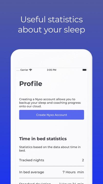 Nyxo: Sleep coaching screenshot-4