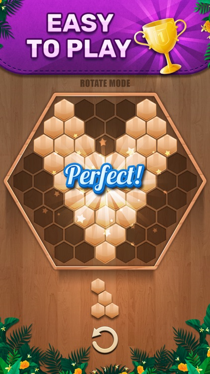Wooden 100 Block - Hexa Puzzle screenshot-3