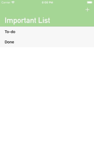 Important List screenshot 2