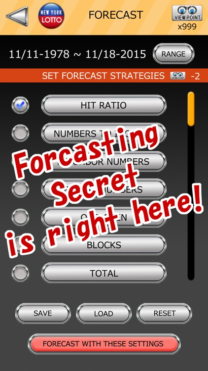 NY LOTTO SCIENTIFIC FORECAST screenshot-4