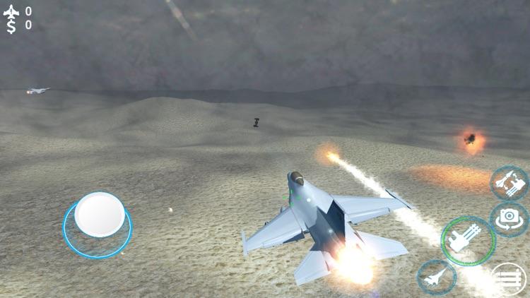 Jet Fighter Air Strike 3d screenshot-4