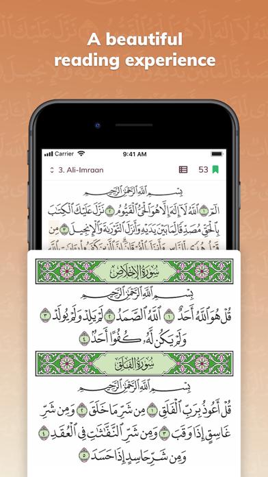 Quran Touch - Athan & Athkar screenshot one