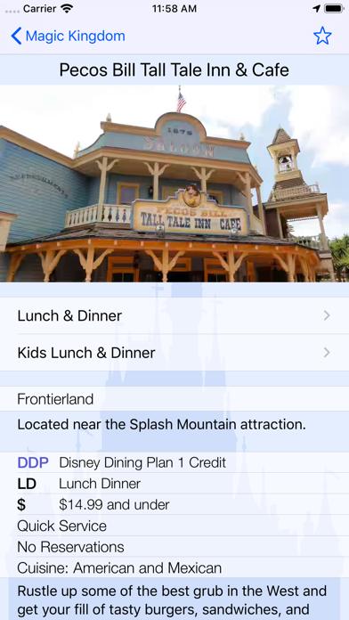 Magic Guide for Disney World Screenshot