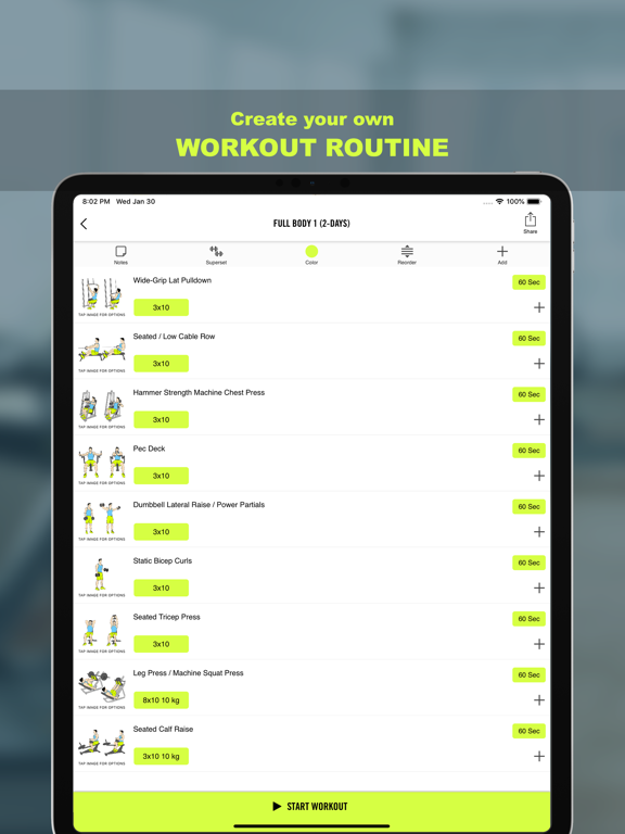 Gym Life - Workout Scheduleのおすすめ画像3