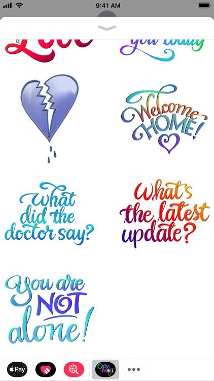 Care-Moji Stickers screenshot-4