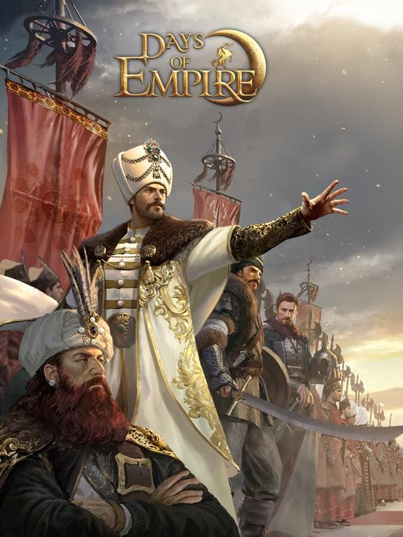 Days of Empire на iPad