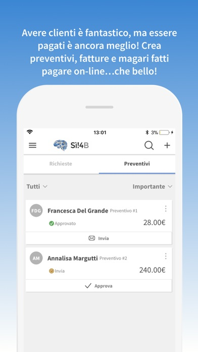 Screenshot of Sì!4Business3