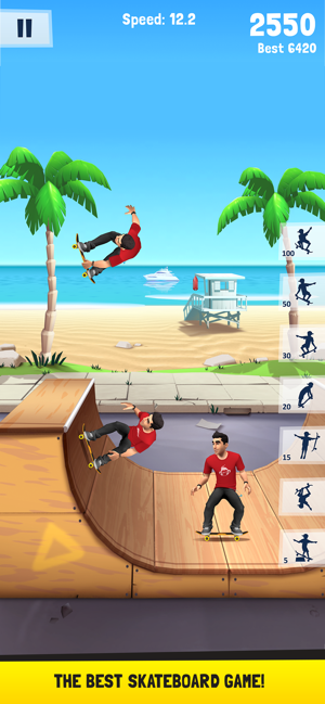 ‎Flip Skater Screenshot