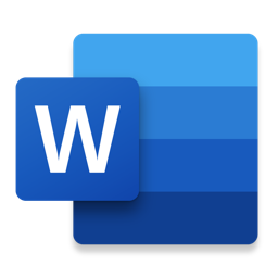 Ícone do app Microsoft Word