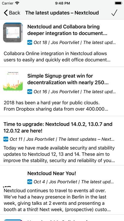CloudNews - Feed Reader