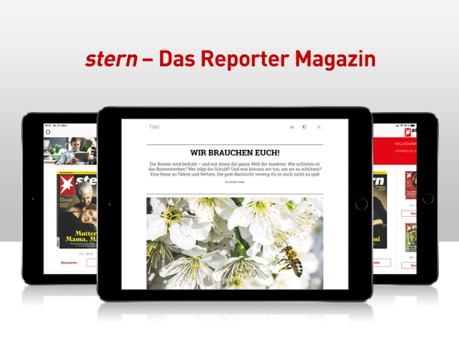 ‎stern - Das Reporter-Magazin Screenshot