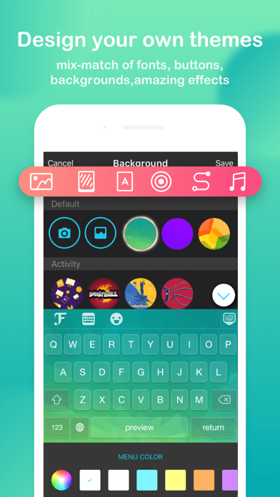Screenshot for FancyKey - Tastatur-Themes in Germany App Store