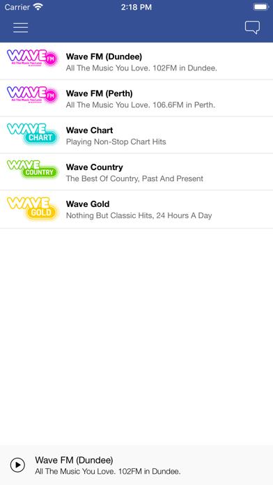 Wave FM screenshot three