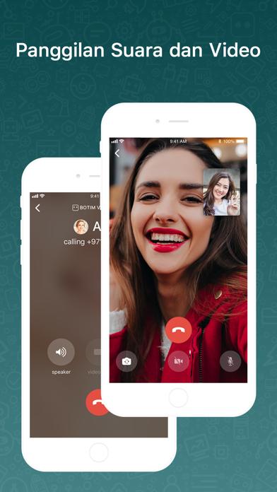 Screenshot for BOTIM - video call dan chat in Indonesia App Store