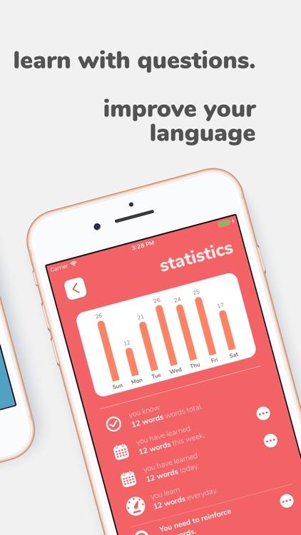 Flashwords - learn new words! screenshot-3