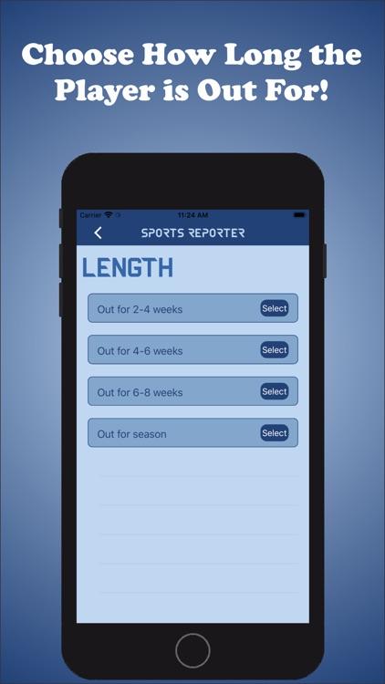 Sports Reporter screenshot-7