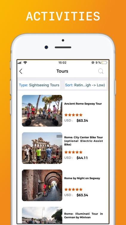 Rome Travel Guide Offline screenshot-5
