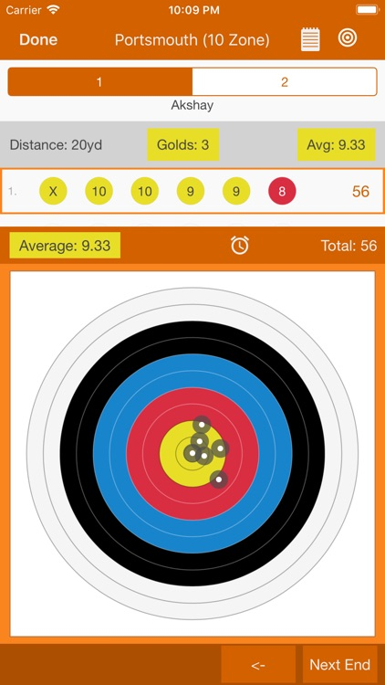 Archery Scoresheets screenshot-8