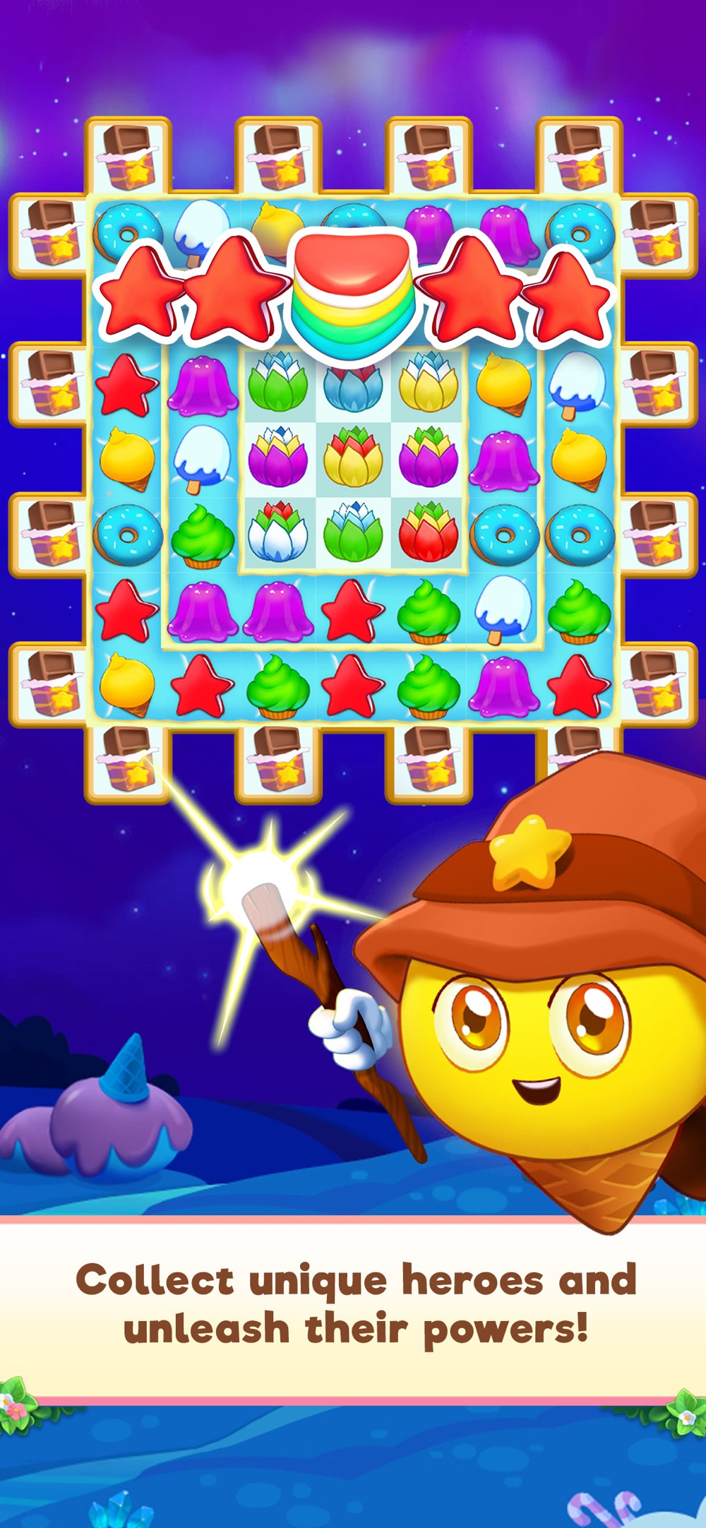 Candy Riddles: Match 3 Puzzle hack tool